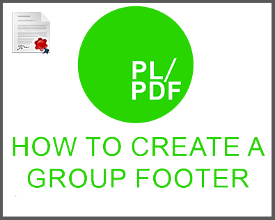 creating group footers, oracle reporting, oracle reporting tool, oracle reporter, oracle report, database to pdf, oracle pdf generator, oracle pdf, oracle docx generator, oracle docx, database reporting, database reporter, database pdf, business intelligence reporter, business intelligence reporting, business intelligence PDF, plsql, plsql PDF, plsql docx, plsql reporter, plsql reorting, plsql database reporter