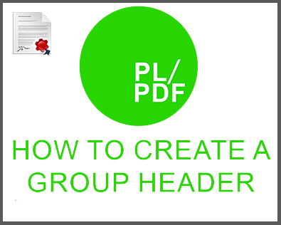 creating group headers, oracle reporting, oracle reporting tool, oracle reporter, oracle report, database to pdf, oracle pdf generator, oracle pdf, oracle docx generator, oracle docx, database reporting, database reporter, database pdf, business intelligence reporter, business intelligence reporting, business intelligence PDF, plsql, plsql PDF, plsql docx, plsql reporter, plsql reorting, plsql database reporter
