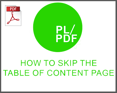 skipping the table of content page creation in pl/pdf, oracle reporting, oracle reporting tool, oracle reporter, oracle report, database to pdf, oracle pdf generator, oracle pdf, oracle docx generator, oracle docx, database reporting, database reporter, database pdf, business intelligence reporter, business intelligence reporting, business intelligence PDF, plsql, plsql PDF, plsql docx, plsql reporter, plsql reorting, plsql database reporter